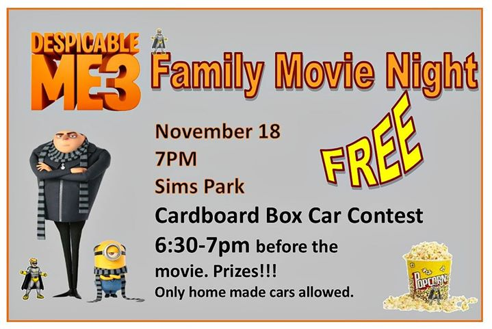 Family Movie Night Despicable Me3