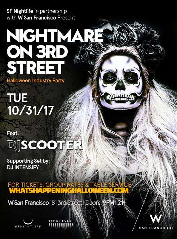 Halloween Night at W San Francisco   Nightmare on 3rd Street