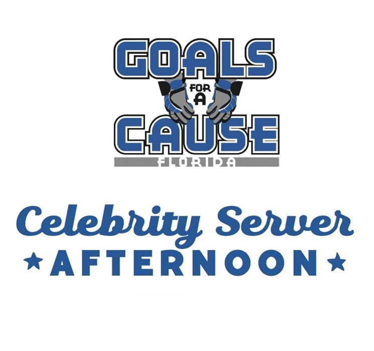 Goals for a Cause Annual Celebrity Server Afternoon