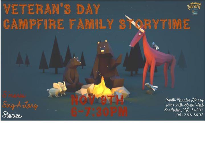 Veteran's Day Campfire Family Storytime