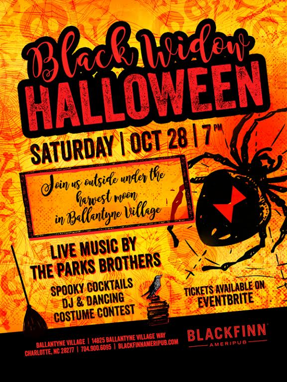 black widow halloween at blackfinn ballantyne charlotte nc oct 28 2017 10 00 pm. Black Bedroom Furniture Sets. Home Design Ideas