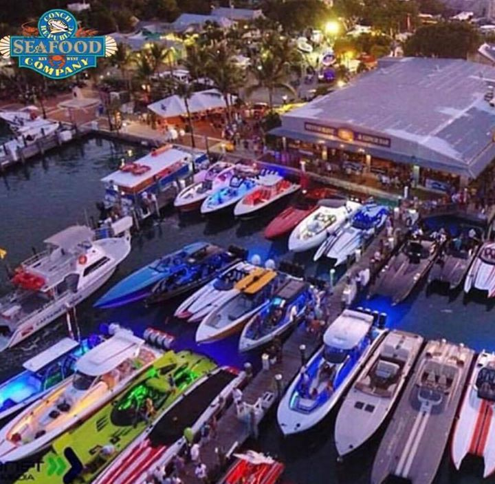 Powerboats at the CRSC docks!