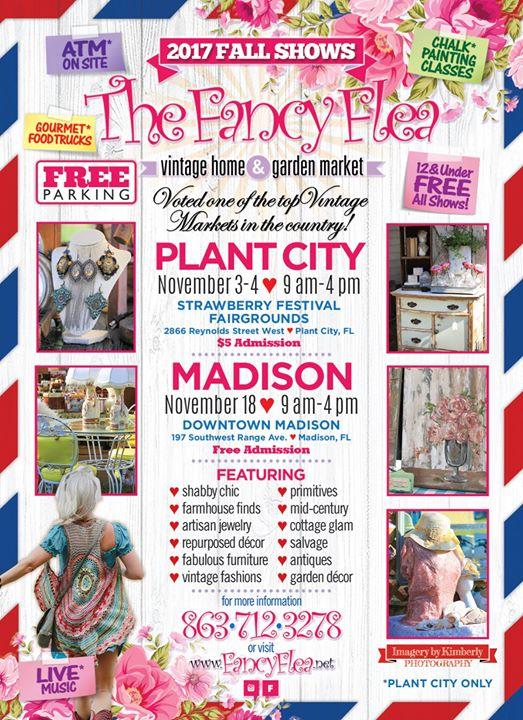 The Fancy Flea Plant City Tampa Fl Nov 3 2017 9 00 Am