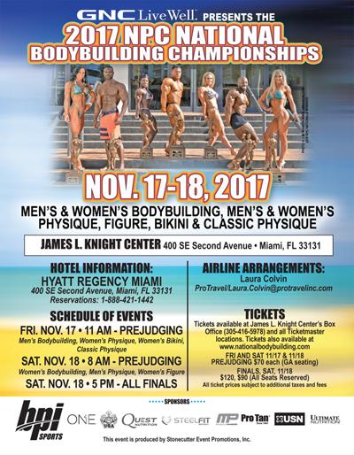 2017 NPC National Body Building Championships