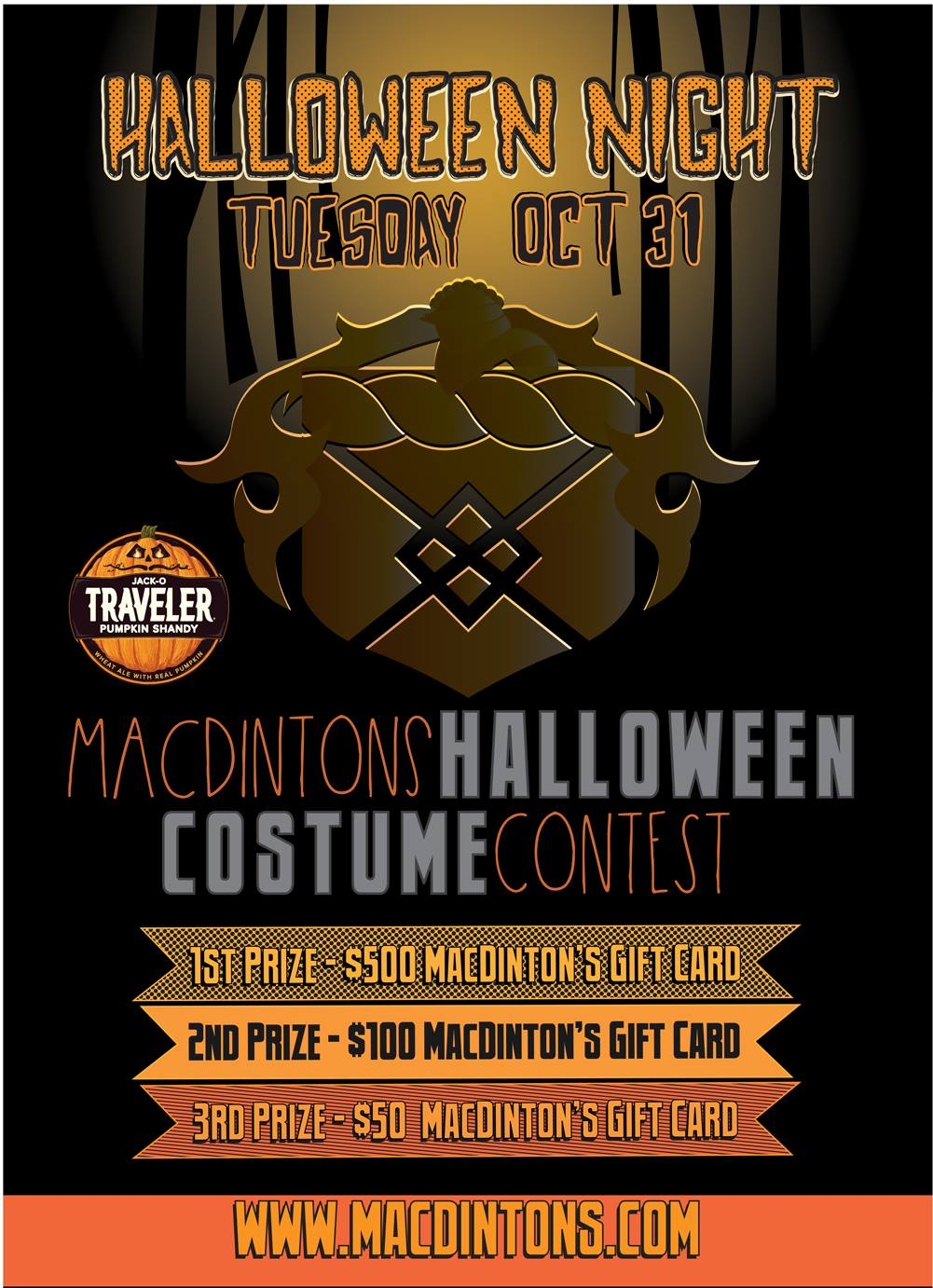 Halloween Costume Party at MacDinton's