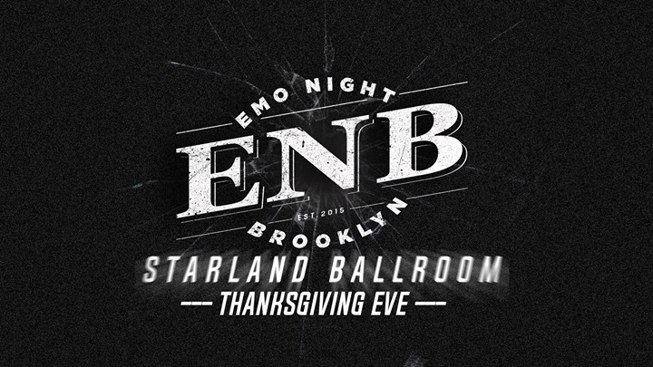 Emo Night Brooklyn - Thanksgiving Eve