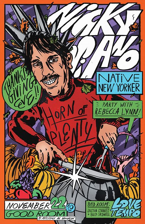 Nicky Siano's Native New Yorker - Thanksgiving Eve