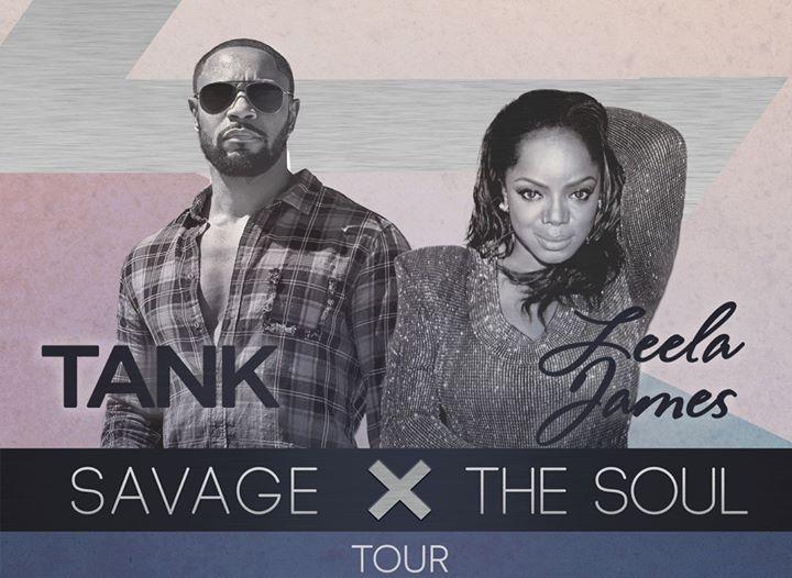 Tank & Leela James: Savage X the Soul Tour at New Daisy Theatre