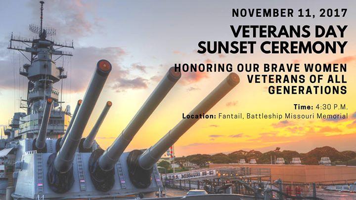 Veterans Day Sunset Ceremony