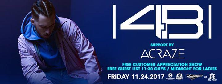 4B – Free Guest List - Pound Fridays – Tampa, FL
