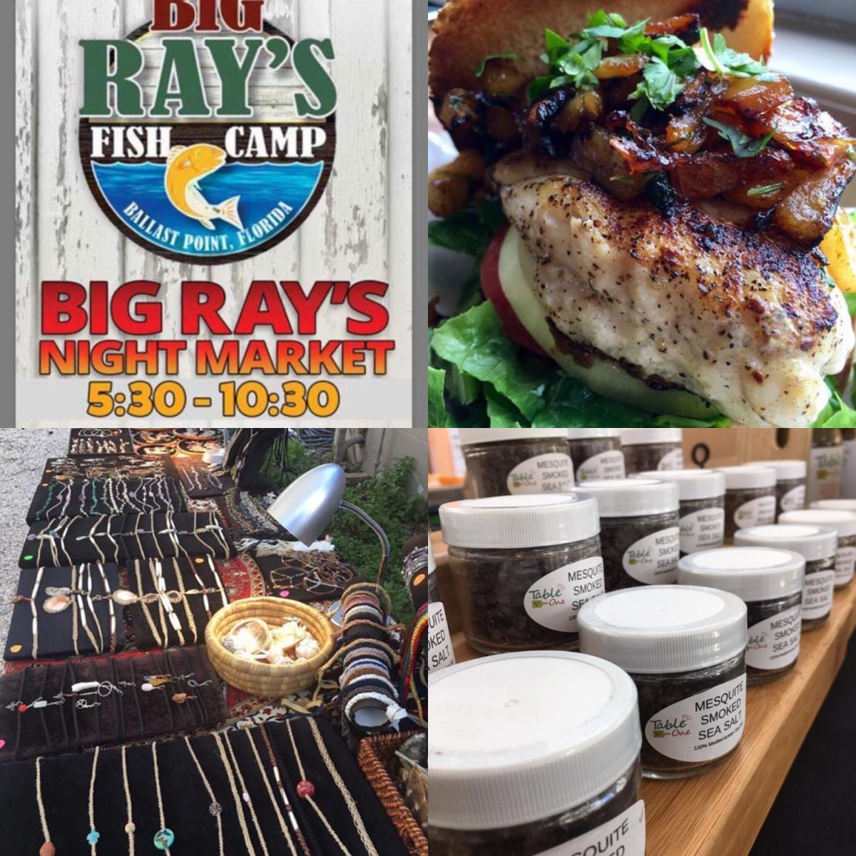 Night Market at Big Rays Fishcamp