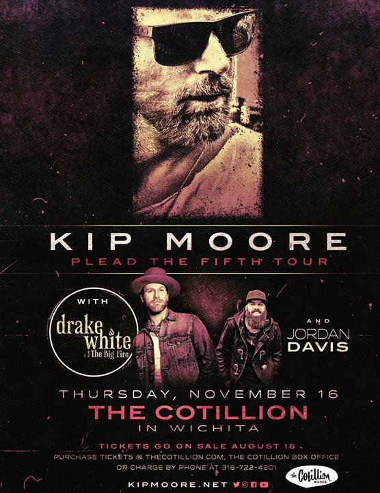 Kip Moore ı The Cotillion November 16