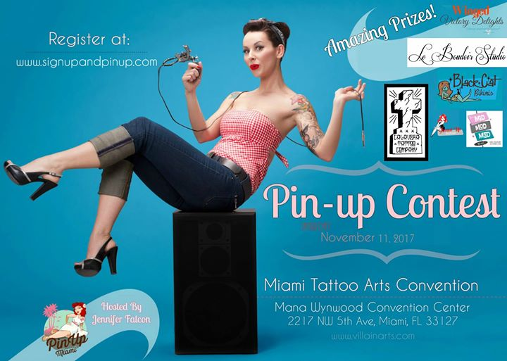 Pinup Contest at the Miami Tattoo Convention 2017