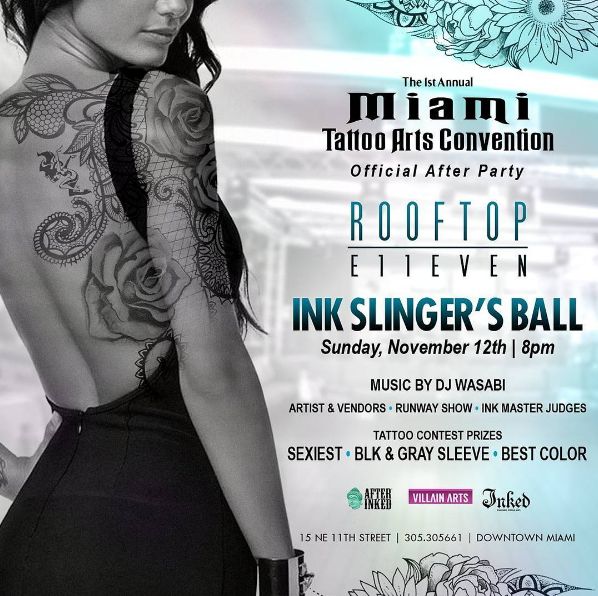 Miami Tattoo Arts Convention After Party