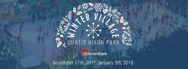Winter Village Opening Night
