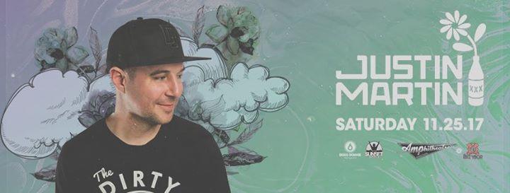 Justin Martin – Amp!d Saturdays – Tampa, FL