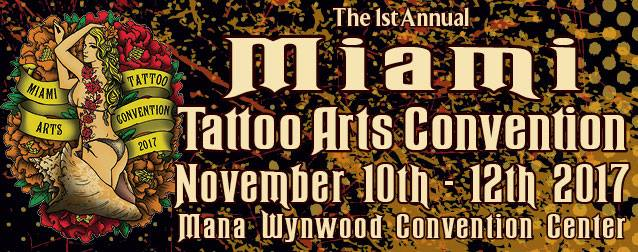 Peterson's At Miami 1st Annual Tattoo Convection!
