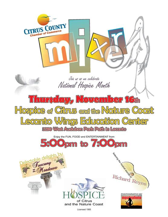 November Mixer Hosted by Hospice of Citrus