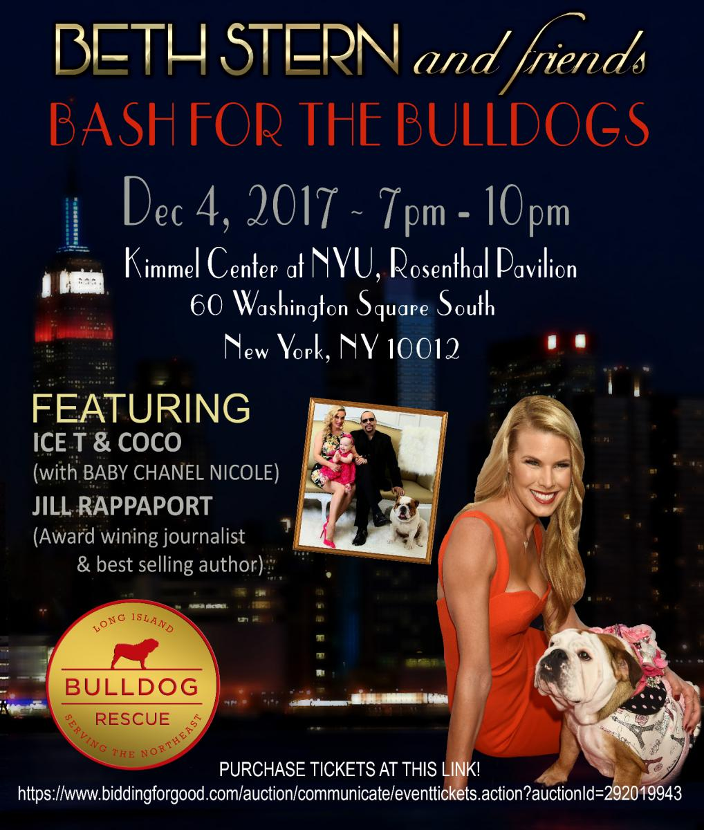 BETH STERN AND FRIENDS HOST BASH FOR THE BULLDOGS