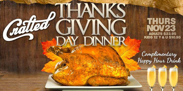 Restaurants Open Late On Thanksgiving Day
