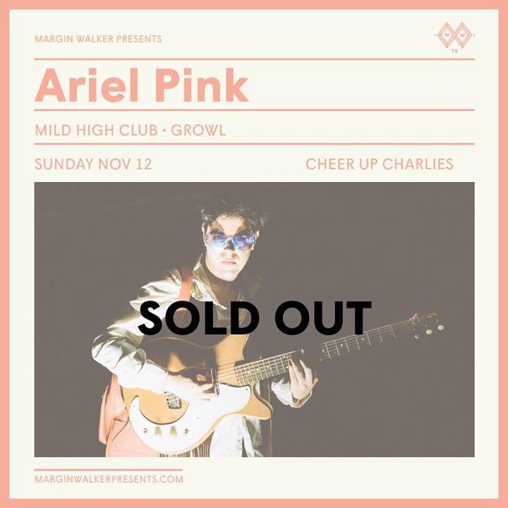 Ariel Pink at Cheer Up Charlies