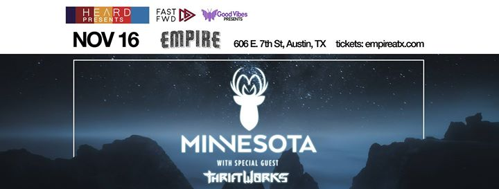 Minnesota with Thriftworks at Empire Garage