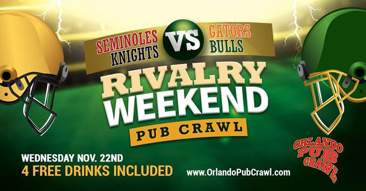 Rivalry Weekend Pub Crawl