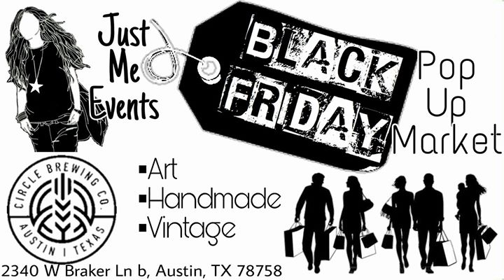 Just Me Events BLACK FRIDAY Pop-Up Market @ Circle Brewing Company