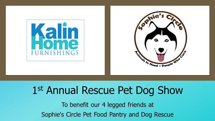 Kalin Home Furnishings 1st Annual Rescue Pet Dog Show