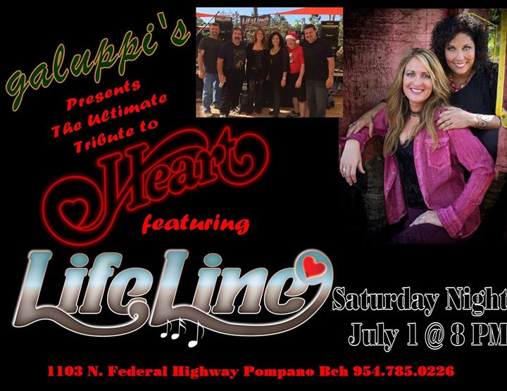 LifeLine's Pre-Thanksgiving Tribute to Heart at Galuppi's