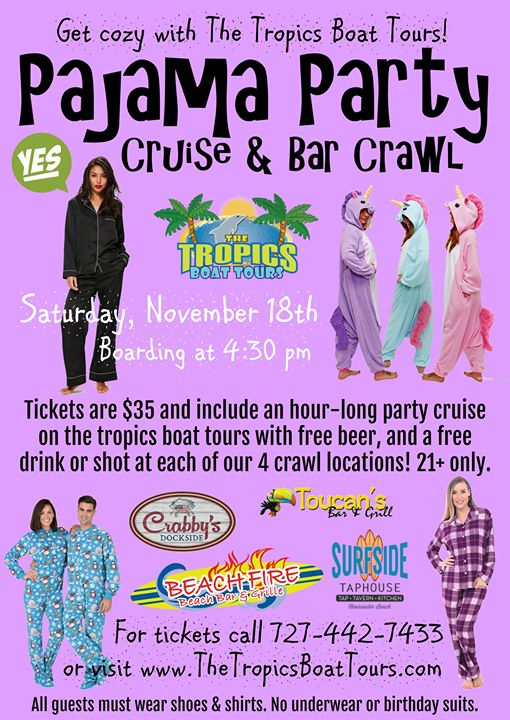 Pajama Party Cruise & Bar Crawl