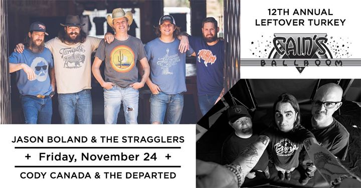 Jason Boland & The Stragglers w/ Cody Canada & The Departed