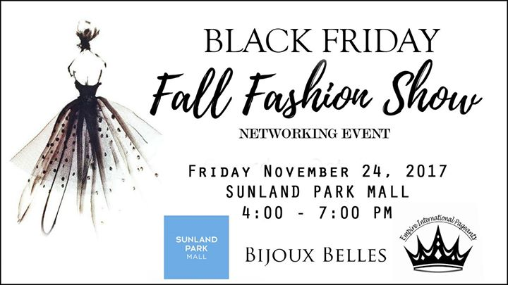 BLACK Friday Fashion Show & Networking Event
