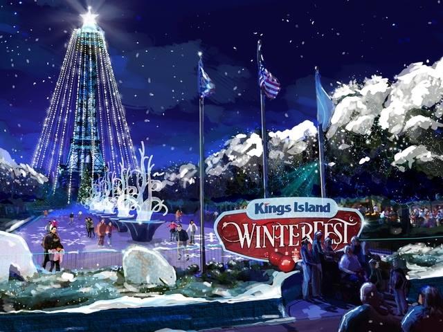 Kings Island Winter Fest 2017!