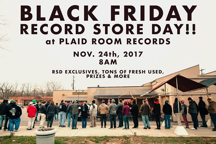 Record Store Day Black Friday at Plaid Room Records!