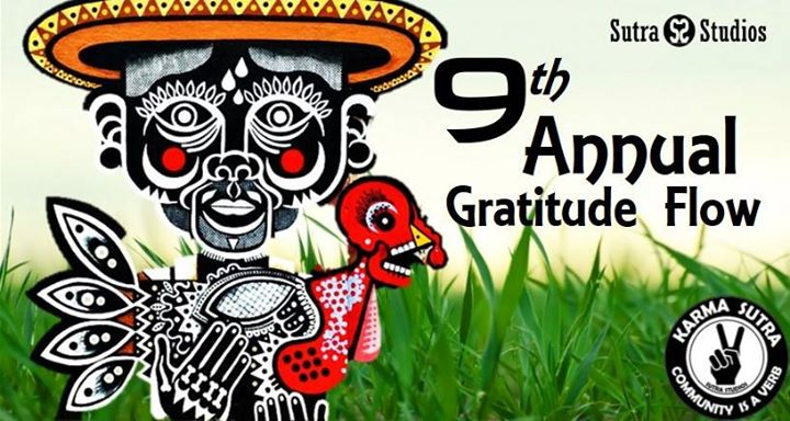 Sutra's 9th Annual Gratitude Flow