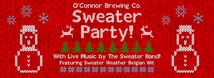 Ugly Sweater Party with The Sweater Band