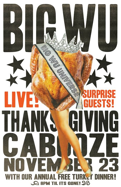 The Big Wu Thanksgiving Show at The Cabooze