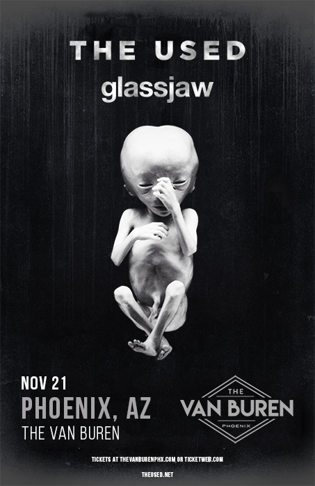 The Used with Glassjaw at The Van Buren