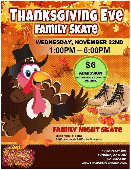 Thanksgiving Eve Family Skate
