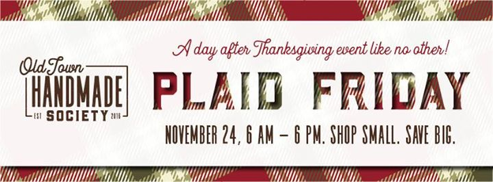 Plaid Friday Sale!