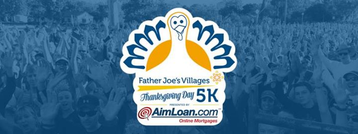 Father Joe's Villages Thanksgiving Day 5K, Presented by AimLoan