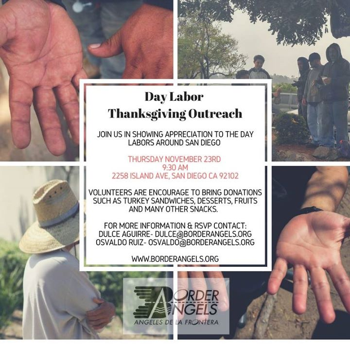 Day Labor Thanksgiving Outreach