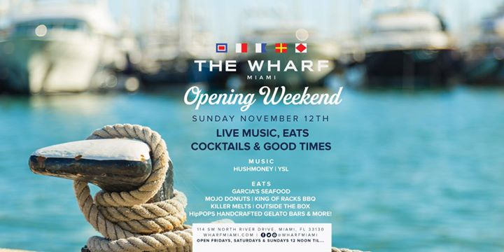 Life is better #SundaysontheRiver! Join us this Sun Nov 12 at The Wharf.