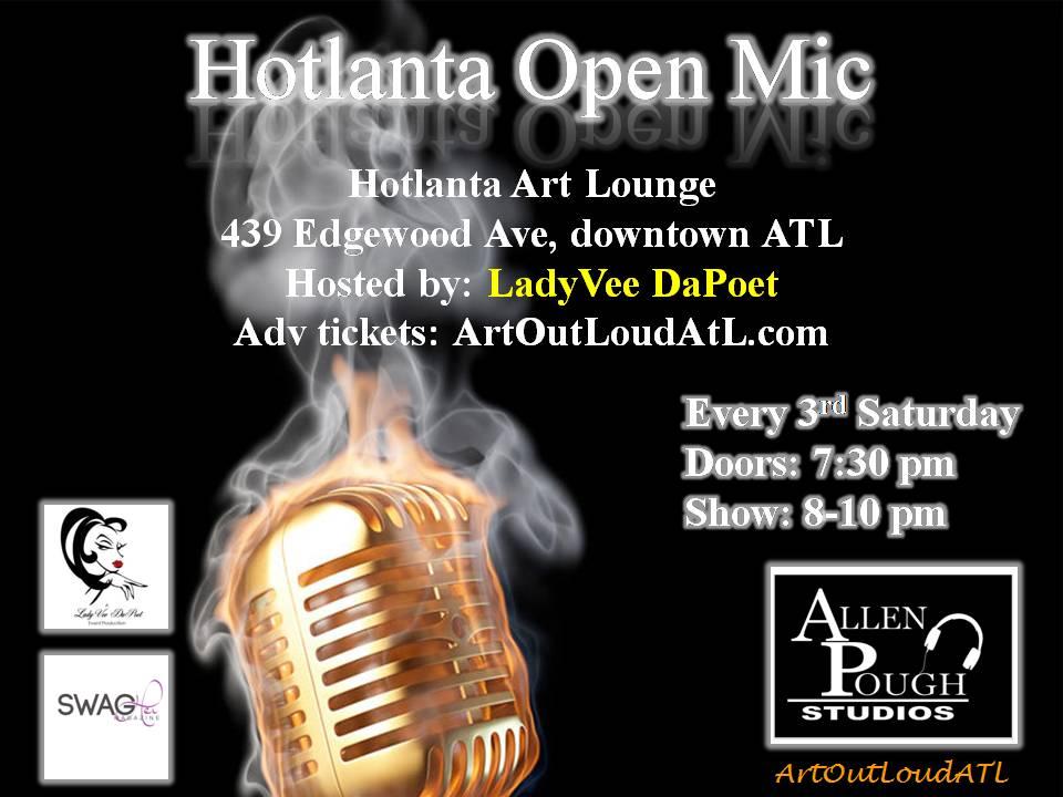Hotlanta Open Mic Variety Show