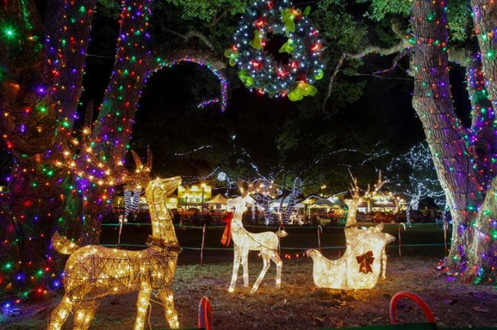 Holiday In The Park Lake Mary Orlando Fl Dec 1 2017