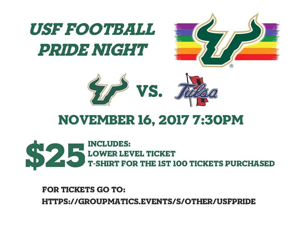 USF Football Pride Night