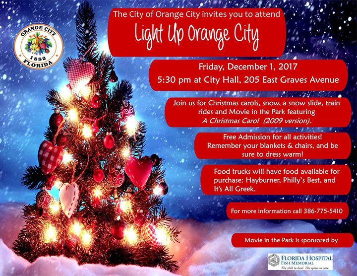 Light Up Orange City