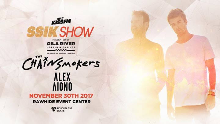 KISS FM SSIK Show ft. The Chainsmokers, Alex Aiono