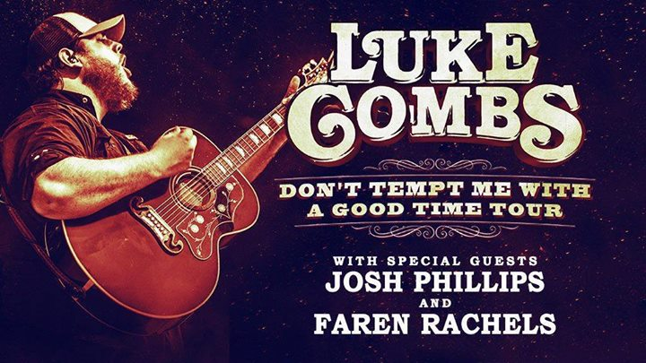 Luke Combs at Coyote Joe's